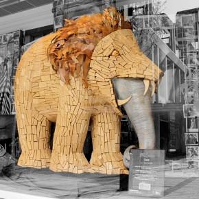 Elephant Parade Heerlen 2011 'Gaia'