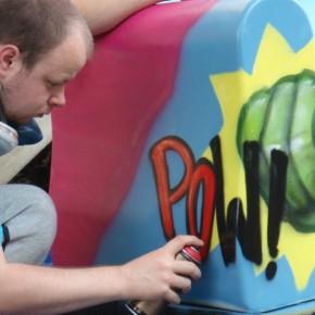 graffiti bankje09