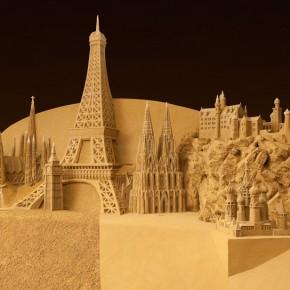 Zandsculpturen Monschau 2012