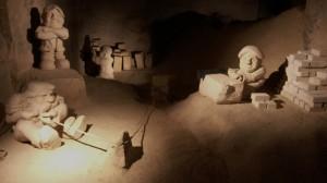 Mergelsculpturen Auvermennekes